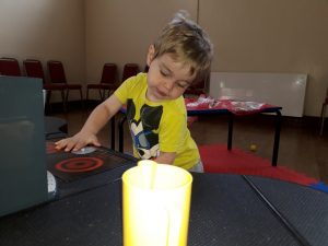 Photo of child playing