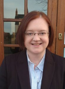 Photograph of Claire Llewelyn Parish Clerk