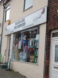 Photograph of Noahs Ark shop front