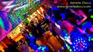 Photograph of one of Genetix disco nights