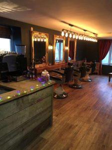 Photograph inside Steven Scarr salon