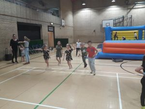 Photograph of Young People at Youth Club