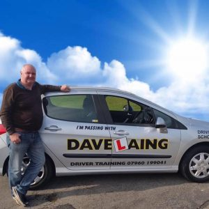 Photograph of David Laing, driving instructor
