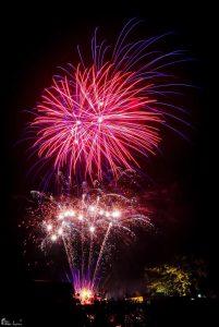 Image of firework display pom pom