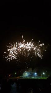 Image of fireworks going bang