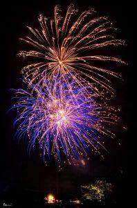 Image of fireworks going off burst