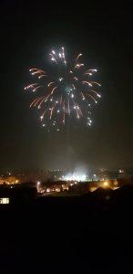 Image of firework display showing burst