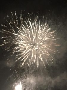 Image of fireworks going off whoosh
