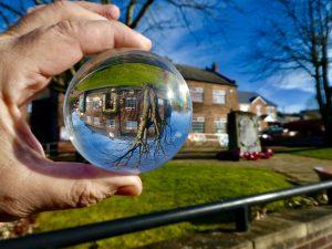 Photo of Coxhoe Village Hall via a globe