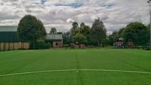 Photograph of the all weather pitch adjacent the centre