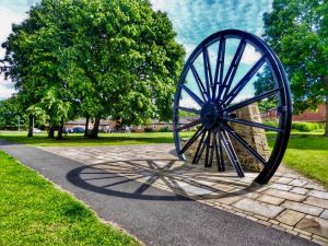 Photo of Pit Wheel on Village Green