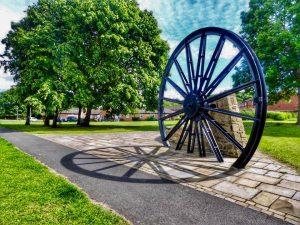 Photo of Pit Wheel on Village Green