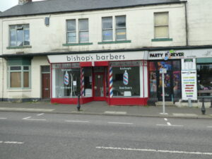 Photograph of Bishops Barbers and Party Forever