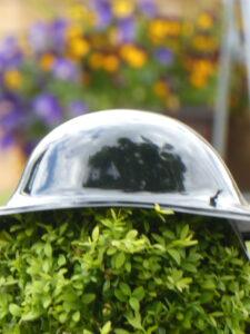 Photograph of helmet