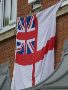Photograph of Ensign flag
